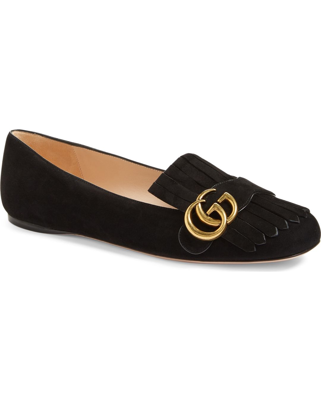 6bc22a0f887b Gucci Marmont Flats Reviews and Sizing – Only Best Shoes