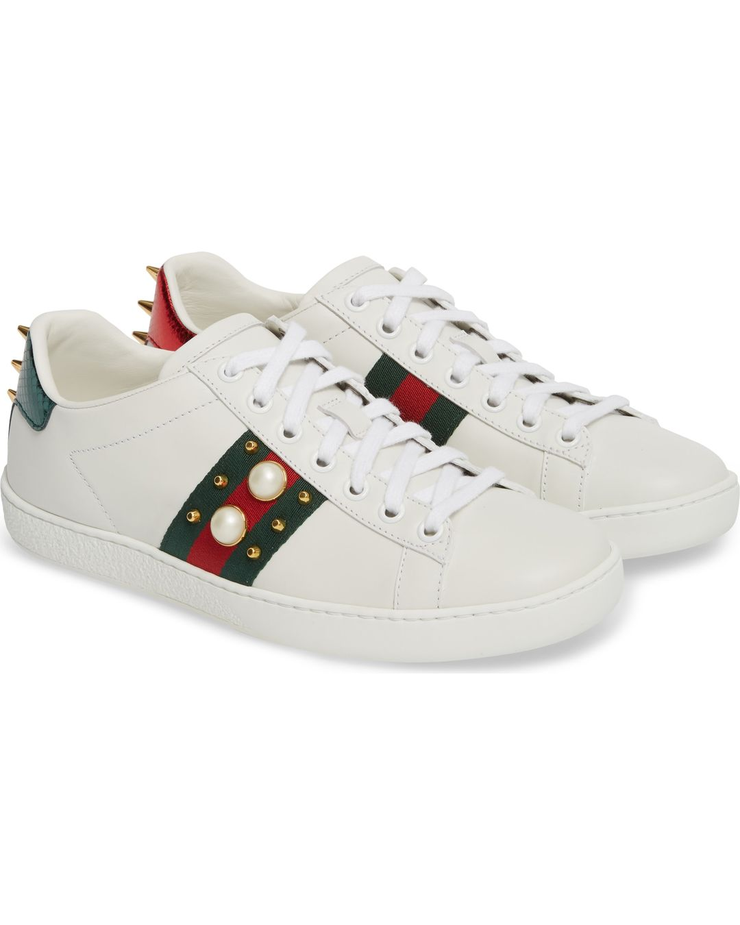 ff4b001b2 Gucci New Ace Low Top Sneaker Reviews and Sizing