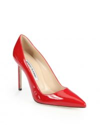 manolo blahnik bb leather pump 105mm obs 01 200x250 - Top 10 Most Comfortable Heels