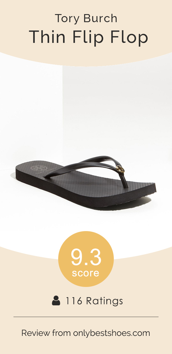 27f7496bb Tory Burch Thin Flip Flop Reviews and Sizing – Only Best Shoes