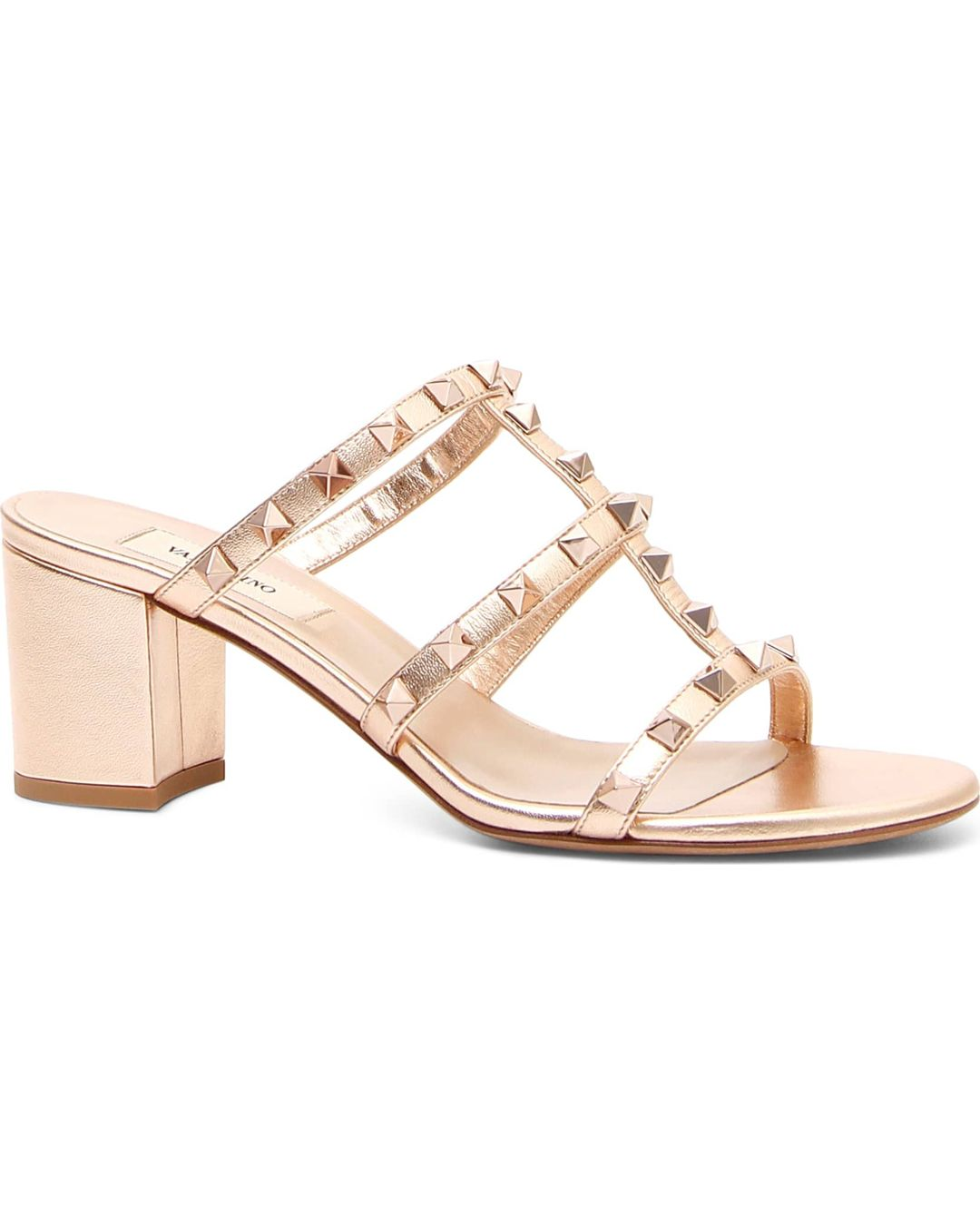 fc8db041e1e6 Valentino Garavani Rockstud Caged Sandal Reviews and prices Only ...