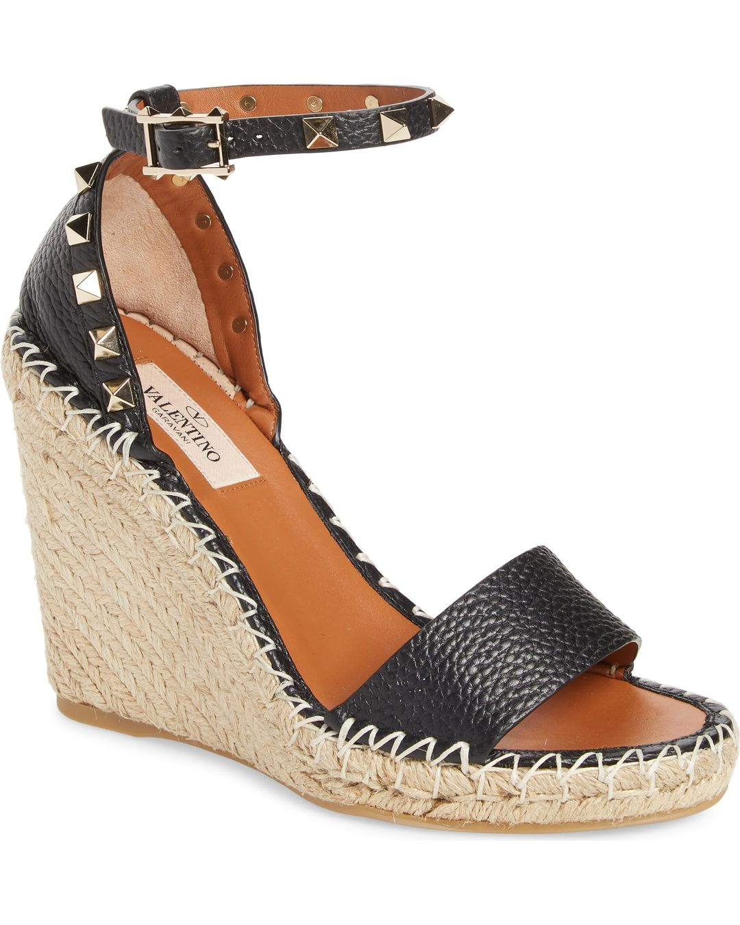 78de2f2ac7 Valentino Garavani Rockstud Espadrille Wedge Reviews and Sizing